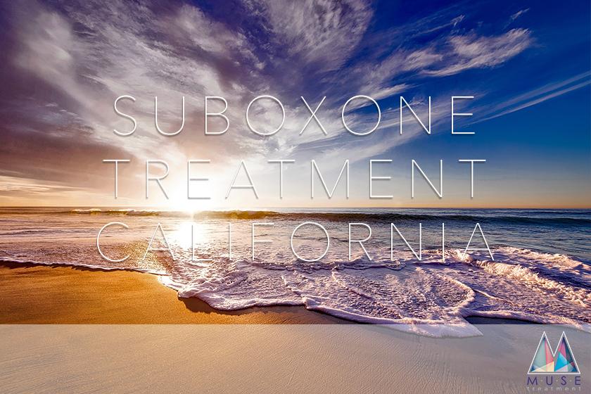 Suboxone Treatment California