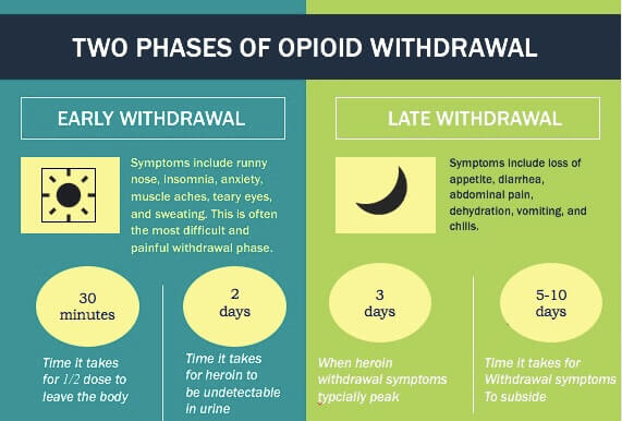 Phases of Heroin Withdrawal